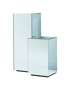 Mirror Display Pedestal Table - 3 sizes