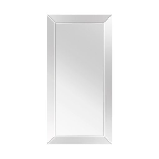 Contemporary Rectangle Mirror Range with Inverse or Reverse Bevel