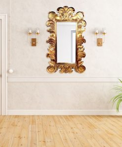 Natasha Antique Wall Mirror in Gold, Bronze or Silver 150cm x 90cm