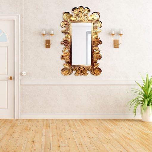 Natasha Antique Wall Mirror in Gold, Bronze or Silver 150cm x 90cm