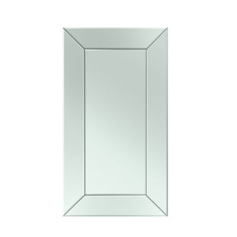 Premium Inverse Mirror Range with Bevelled Angled Panels - 5 sizes available