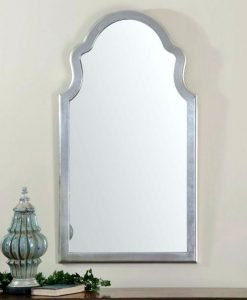 Brayden Silver Wall Mirror by Uttermost