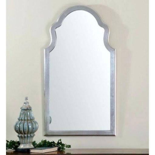 Brayden Silver Wall Mirror by Uttermost