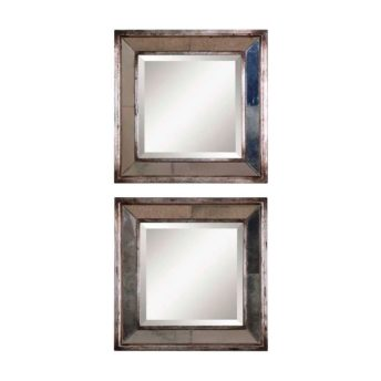 Davion Squares Wall Mirror by Uttermost