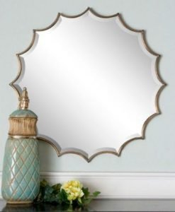 UM_San Mariano Decorative Wall Mirror in Bronze by Uttermost 86cm_12841