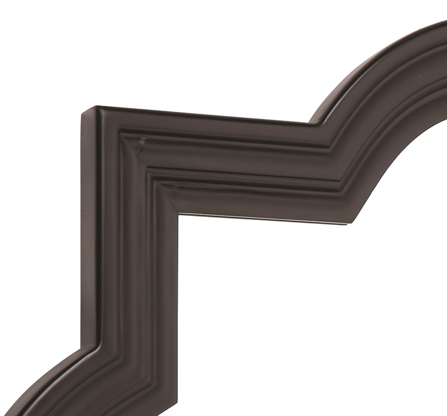 Marrakech wall mirror in black or silver 60cm or 90cm for Mirror 60cm wide