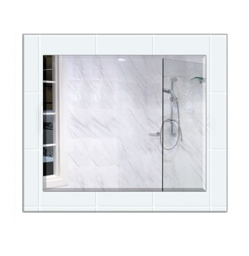 Clear float series bathroom mirror for Bathroom cabinets 200mm wide