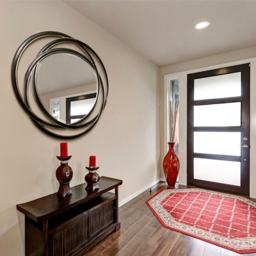 Odalis Round Wall Mirror by Uttermost