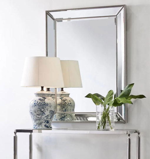 Zanthia Large Wall Mirror 90cm x 120cm