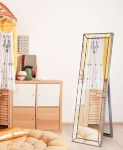 Zanthia Cheval Mirror with Stand