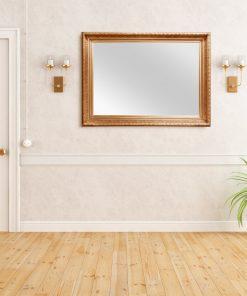 Caen Gold Wall Mirror