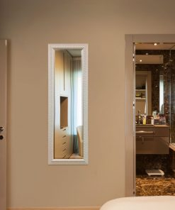 Decorative White Dressing Mirror