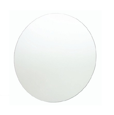 Round Polished Edge Bathroom Mirror