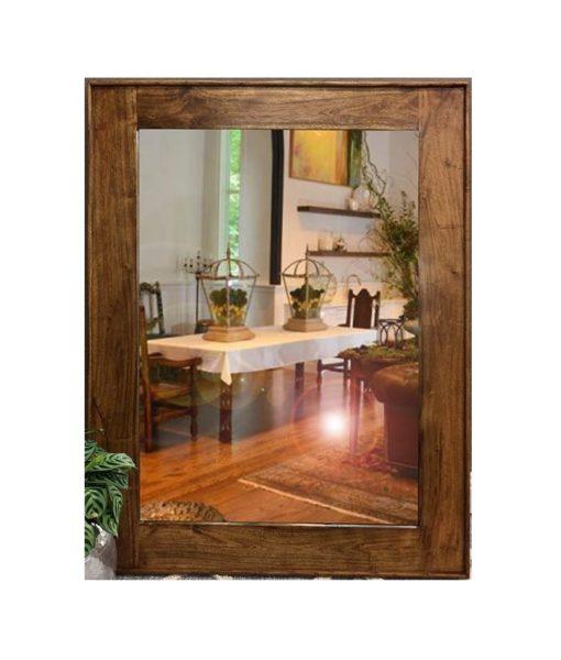 Acacia Timber Wall Mirror