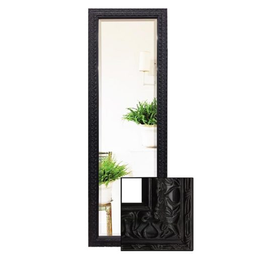 Decorative Black Dressing Mirror