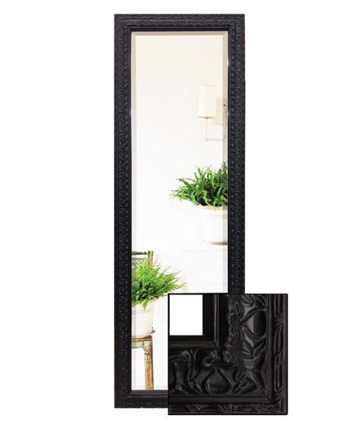 Decorative Black Dressing Mirror