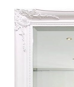 Georgia Ornate White Mirror