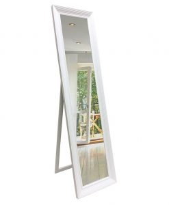 White Cheval Dress Mirror