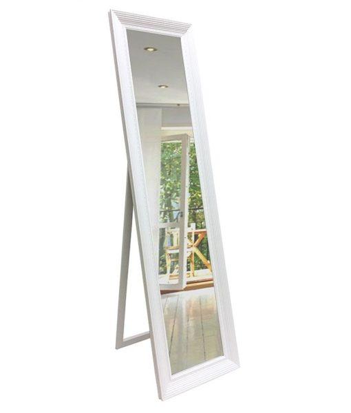 White Cheval Dress Mirror