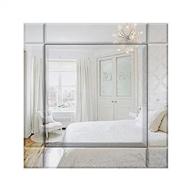 Square Art Deco Cube Mirror