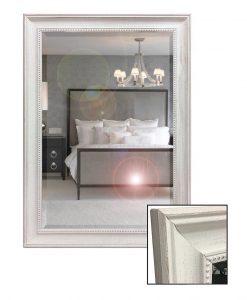 Boston White Wall Mirror