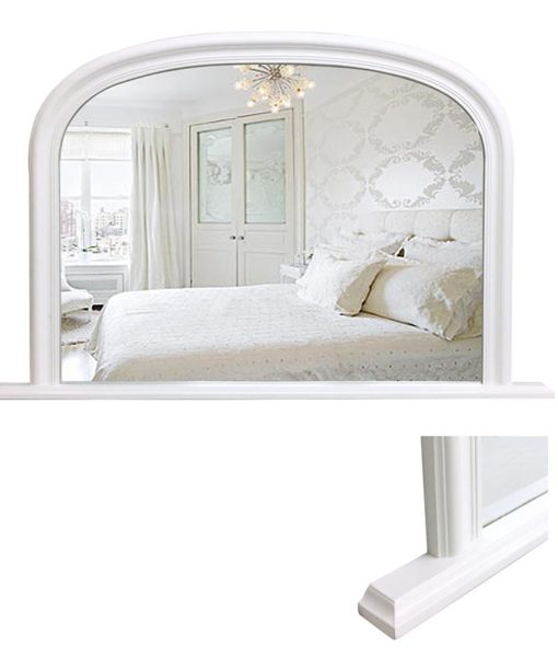 Arch Mantle Mirror