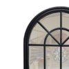 Percy Black Arched Mirror