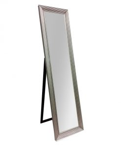 Silver Cheval Dress Mirror
