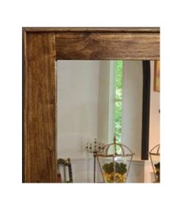 Acacia Timber Wall Mirror