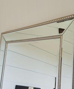 Silver Bead Mirror Top