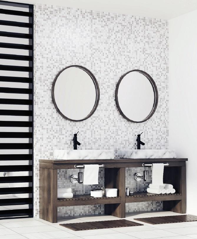 Milan Round Black Frame Mirror Free Shipping Luxe Mirrors