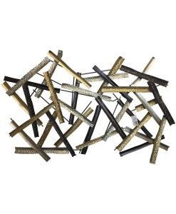 Metallic Sticks Wall Art