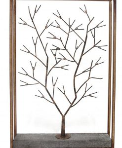 Metal Framed Winter Tree Wall Art 8cm