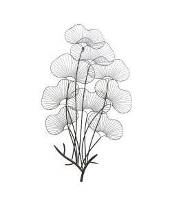 Bouquet Metal Wall Decor 110cm