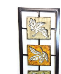Autumn Leaves Metal Wall Art 76cm