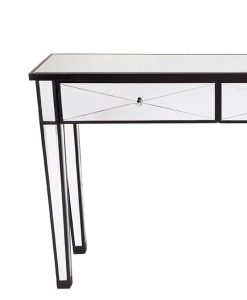 Apolo Black Mirrored Console Table