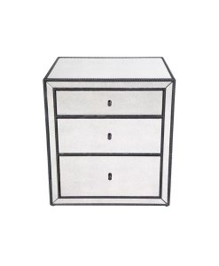 Brentwood Bedside Table 60cm L x 50cm W x 66cm H