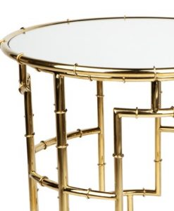 Gold Loft Side Table