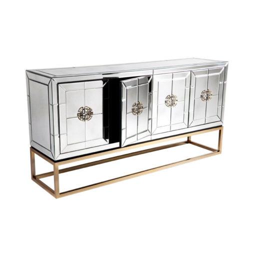 Jester Buffet - Antique Mirror Cabinet