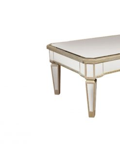 Allie Antique Mirror Rectangular Coffee Table 120cm x 70cm x 45cm