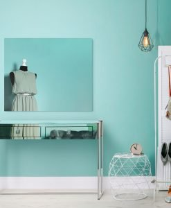 Ava Copper Mirrored Console
