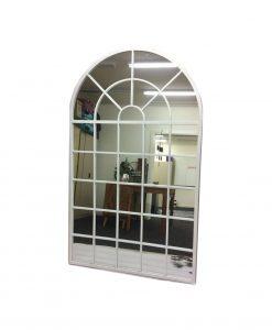 White Arch Mirror