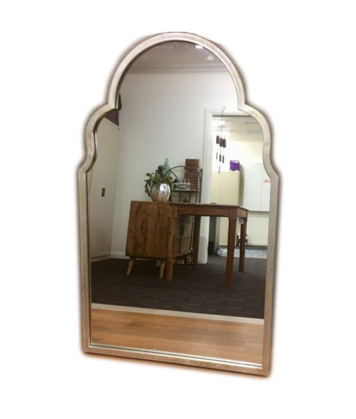 Jade Champagne Arch Wall Mirror