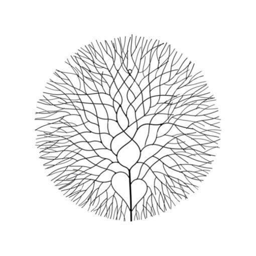 Elegant-Tree-Metal-Wall-Art-Decor-(Set-of-2)-63cm-White-or-Black