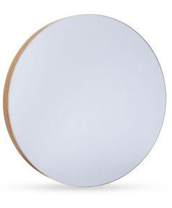 Modern Round Amina Organic Frame Wall Mirror 41CM