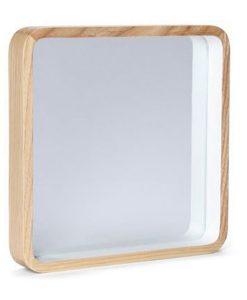 Minimalist Design Ynara Organic Wall Mirror 25CM