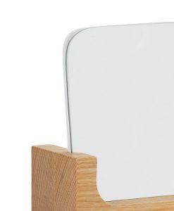 Vyanna Organic Wooden Vanity Rectangle Mirror 12cm x 6cm x 15cm