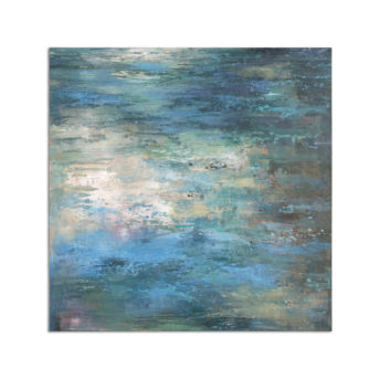 Splish Splash Canvas Wall Art 102cm