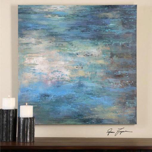 Splish Splash Canvas Wall Art 102cm