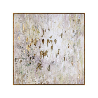 Golden Raindrops Canvass Wall Art 157cm